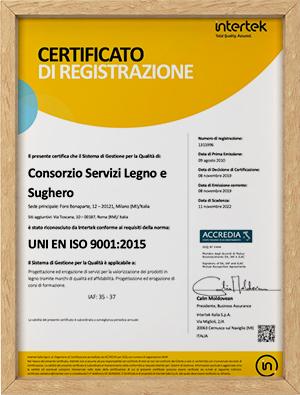 UNI EN ISO 9001 2015